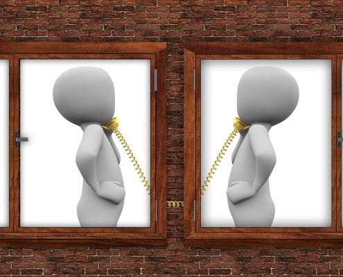 Figuren telefonieren