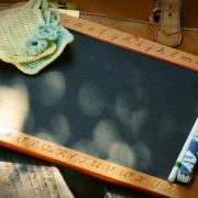 Tafel mit Kreide